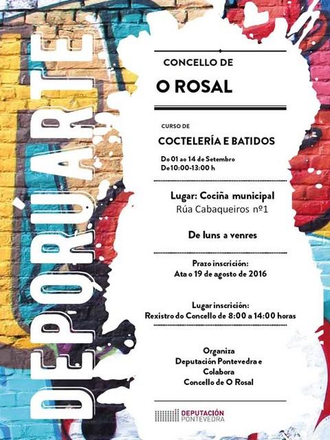 Infominho -  Curso gratuito de cocteler�a e batidos sen alcol no Rosal - INFOMI�O - Informacion y noticias del Baixo Mi�o y Alrededores.