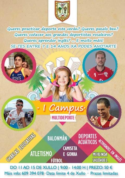 Infominho -  I Campus Multideporte organizado polo Acanor Atl�tico Nov�s - INFOMI�O - Informacion y noticias del Baixo Mi�o y Alrededores.