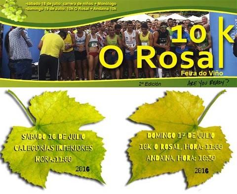 Infominho -  Abiertas las inscripciones para la tercera edici�n de la carrera 10K O Rosal - INFOMI�O - Informacion y noticias del Baixo Mi�o y Alrededores.