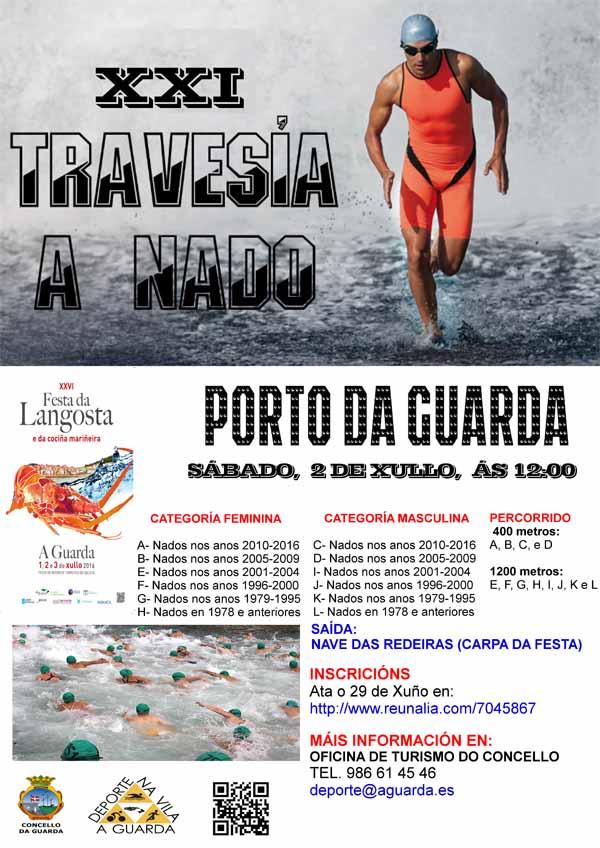 Infominho -  21� edici�n da Traves�a a nado da Guarda este s�bado - INFOMI�O - Informacion y noticias del Baixo Mi�o y Alrededores.