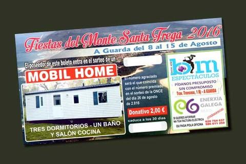 Infominho - Saen á venda as rifas das Festas do Monte 2016 - INFOMIÑO - Informacion y noticias del Baixo Miño y Alrededores.