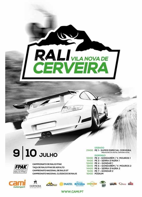 Infominho - Rali Cerveira: Motores aquecem para -um dos melhores Ralis de Asfalto a nível nacional- - INFOMIÑO - Informacion y noticias del Baixo Miño y Alrededores.