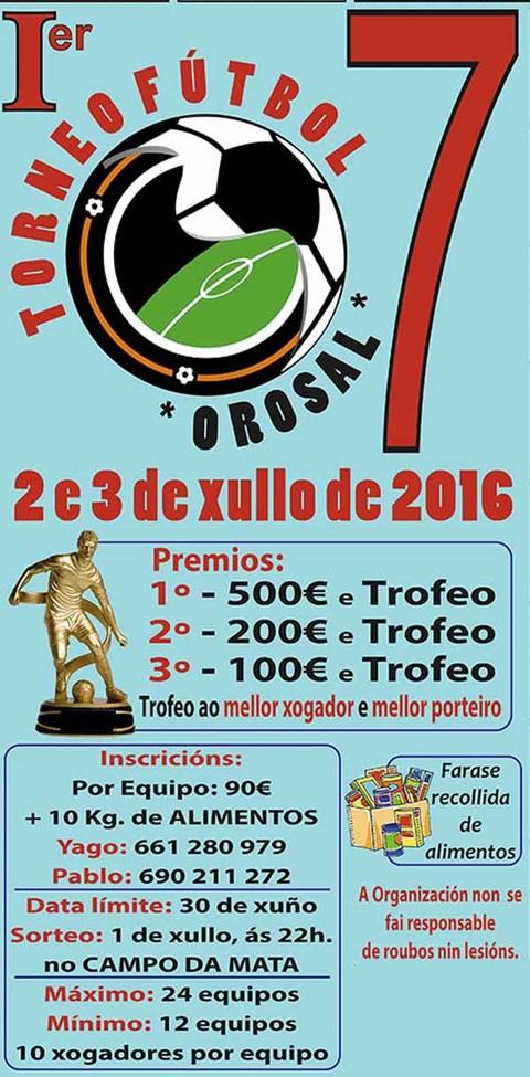 Infominho -  I Torneo de Futbol 7 o 2 e 3 de xullo no Rosal - INFOMI�O - Informacion y noticias del Baixo Mi�o y Alrededores.