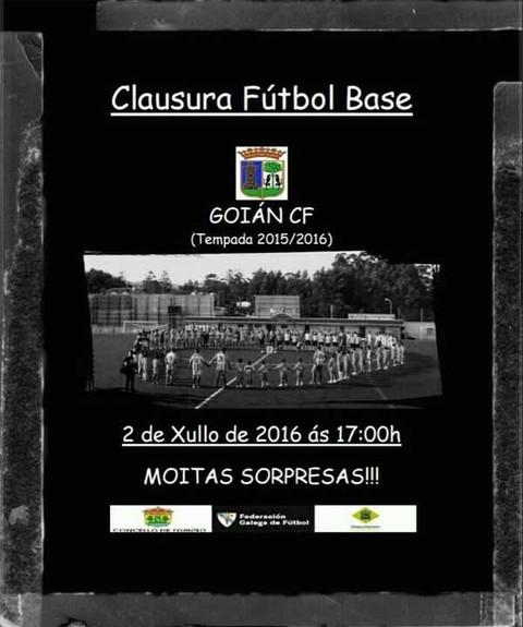 Infominho -  Clausura Futbol Base do Goi�n CF tempada 2015-16 - INFOMI�O - Informacion y noticias del Baixo Mi�o y Alrededores.