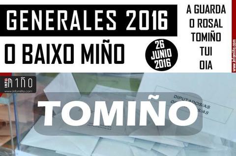 Infominho - Resultados Elecciones Generales 26J2016 no Concello de Tomiño - INFOMIÑO - Informacion y noticias del Baixo Miño y Alrededores.