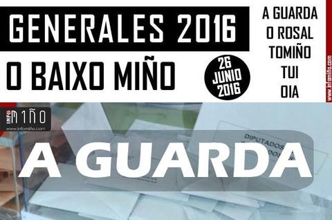 Infominho - Resultados Elecciones Generales 26J2016 no Concello de A Guarda - INFOMIÑO - Informacion y noticias del Baixo Miño y Alrededores.