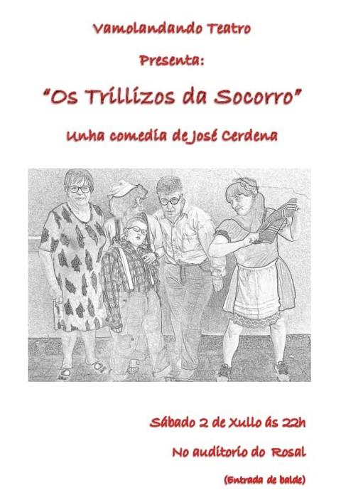 Infominho -  Teatro: Vamoladando teatro presenta este s�bado no Rosal -Os trillizos da socorro- - INFOMI�O - Informacion y noticias del Baixo Mi�o y Alrededores.