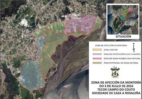 Infominho -  A Sociedade de Caza A Rosale�a avisa da realizaci�n dunha monter�a este domingo na Guarda - INFOMI�O - Informacion y noticias del Baixo Mi�o y Alrededores.