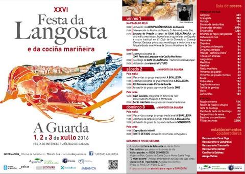 Infominho -  Todo preparado na Guarda para acoller a XXVI Festa da Langosta e da Coci�a Mari�eira o 1, 2 e 3 de xullo  - INFOMI�O - Informacion y noticias del Baixo Mi�o y Alrededores.