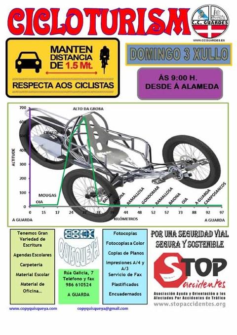 Infominho -  Sa�da cicloturismo co Clube Ciclista Guard�s o domingo 3 de xullo de 2016 - INFOMI�O - Informacion y noticias del Baixo Mi�o y Alrededores.
