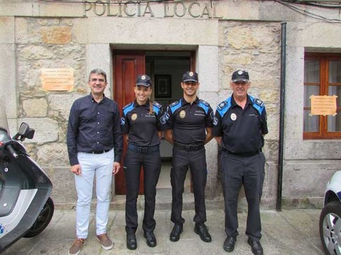 Infominho -  A Guarda incorpora dous auxiliares de Polic�a Local para a campa�a de ver�n - INFOMI�O - Informacion y noticias del Baixo Mi�o y Alrededores.