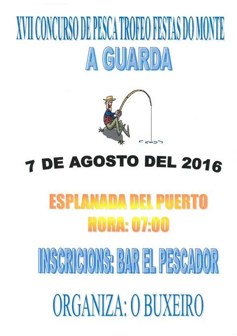 Infominho - XVII Concurso de Pesca Trofeo Festa do Monte o 7 de agosto de 2016 - INFOMIÑO - Informacion y noticias del Baixo Miño y Alrededores.