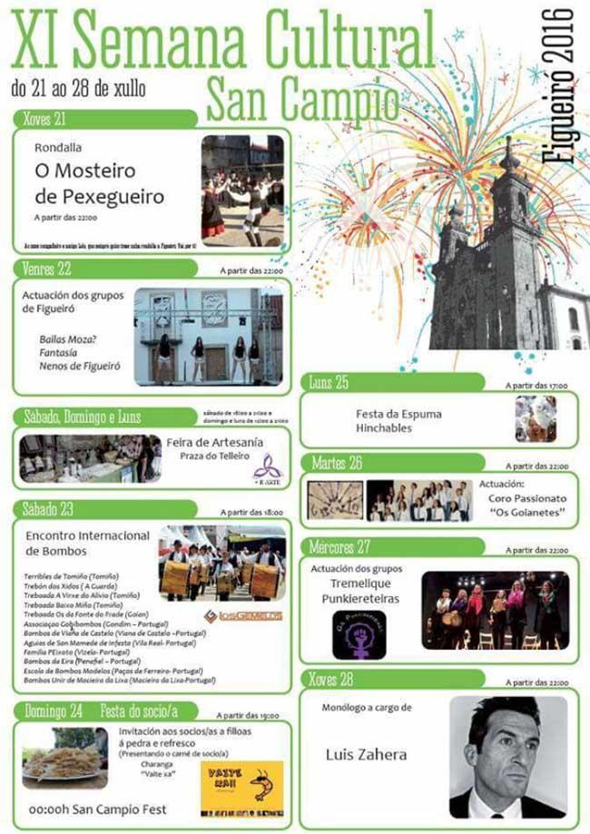 Infominho -  XI Semana Cultural de San Campio en Figueir� do 21 � 28 de xullo de 2016 - INFOMI�O - Informacion y noticias del Baixo Mi�o y Alrededores.