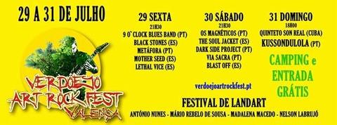 Infominho -  Festival Verdoejo Art Rock Fest de 29 a 31 de julho em Valen�a do Minho - INFOMI�O - Informacion y noticias del Baixo Mi�o y Alrededores.