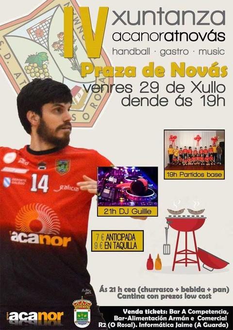Infominho -  IV Xuntanza do Acanor Atl. Nov�s este venres 29 de xullo - INFOMI�O - Informacion y noticias del Baixo Mi�o y Alrededores.