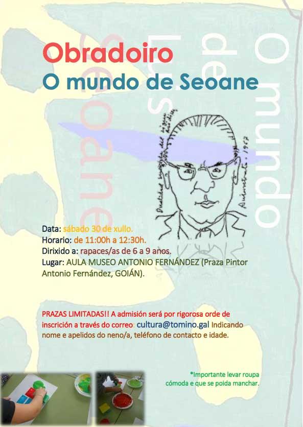 Infominho -  Tomi�o organiza este s�bado o obradoiro -O Mundo de Seoane- - INFOMI�O - Informacion y noticias del Baixo Mi�o y Alrededores.