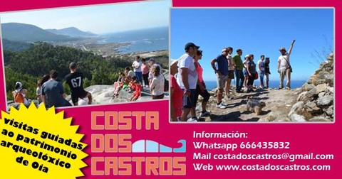 Infominho -  Comeza a campa�a de visitas guiadas � Costa dos Castros en Oia - INFOMI�O - Informacion y noticias del Baixo Mi�o y Alrededores.