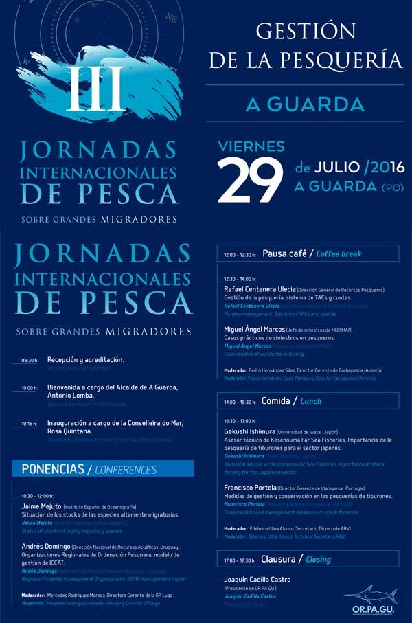 Infominho -  III Jornadas Internacionales de Pesca este viernes en A Guarda - INFOMI�O - Informacion y noticias del Baixo Mi�o y Alrededores.