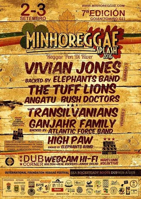 Infominho -  O Minho Reggae Splash volta a Goi�n o 2 e 3 de setembro - INFOMI�O - Informacion y noticias del Baixo Mi�o y Alrededores.