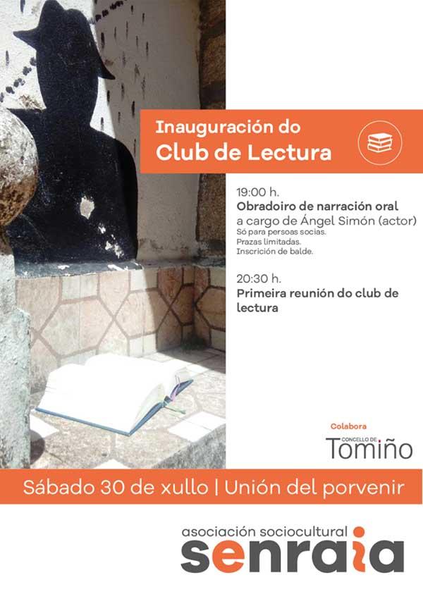 Infominho -  Este s�bado inaug�rase un clube de lectura en Tomi�o - INFOMI�O - Informacion y noticias del Baixo Mi�o y Alrededores.