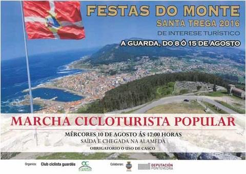 Infominho - Marcha Cicloturista Popular este mércores ás 17:00h da tarde nas Festas do Monte 2016 - INFOMIÑO - Informacion y noticias del Baixo Miño y Alrededores.