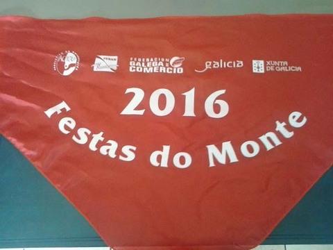 Infominho - La Asociación de Empresarios de A Guarda ACIGU Centro Comercial Aberto entrega sus pañoletas de las Fiestas del Monte Santa Tegra 2016 - INFOMIÑO - Informacion y noticias del Baixo Miño y Alrededores.