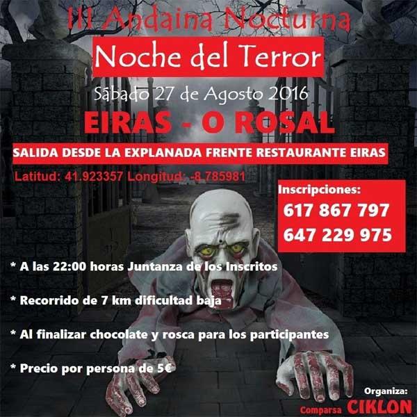 Infominho -  O Rosal se prepara para la noche mas terror�fica del a�o  - INFOMI�O - Informacion y noticias del Baixo Mi�o y Alrededores.