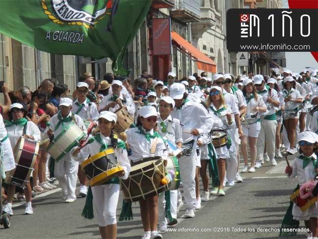 Infominho - ESPECIAL - Reportaxe fotográfica Desfile Festas do Monte 2016 na Guarda - INFOMIÑO - Informacion y noticias del Baixo Miño y Alrededores.