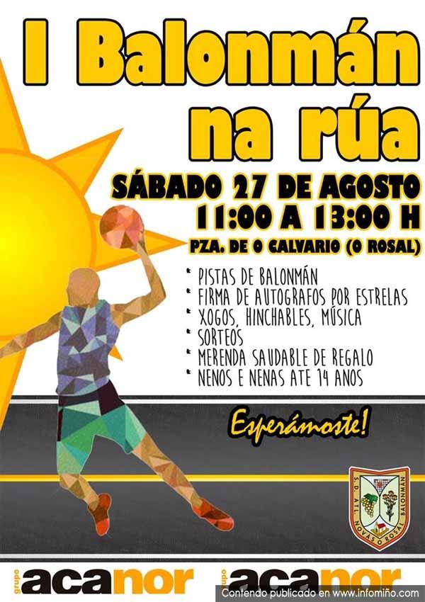 Infominho -  O Rosal acolle o I Balonm�n na R�a o s�bado 27 de agosto - INFOMI�O - Informacion y noticias del Baixo Mi�o y Alrededores.