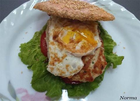 Infominho - Receta: Hamburguesa de carne pavo y pan integral - INFOMIÑO - Informacion y noticias del Baixo Miño y Alrededores.