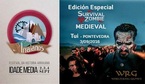 Infominho -  El ciclo de conferencias del Festival Arraianos da comienzo a la cuenta atr�s para la primera edici�n del evento hist�rico-cultural - INFOMI�O - Informacion y noticias del Baixo Mi�o y Alrededores.