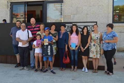 Infominho -  -Dara-, o �nico neno saharaui que visita Tomi�o este ver�n, foi recibido polo goberno local - INFOMI�O - Informacion y noticias del Baixo Mi�o y Alrededores.