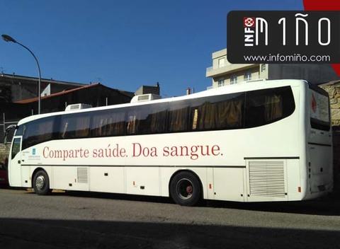 Infominho -  Unidade de doaz�ns de sangue o luns 29 no Rosal - INFOMI�O - Informacion y noticias del Baixo Mi�o y Alrededores.