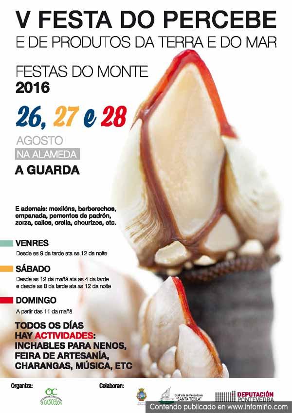 Infominho -  A V Festa do Percebe ter� lugar esta fin de semana na Alameda de A Guarda - INFOMI�O - Informacion y noticias del Baixo Mi�o y Alrededores.