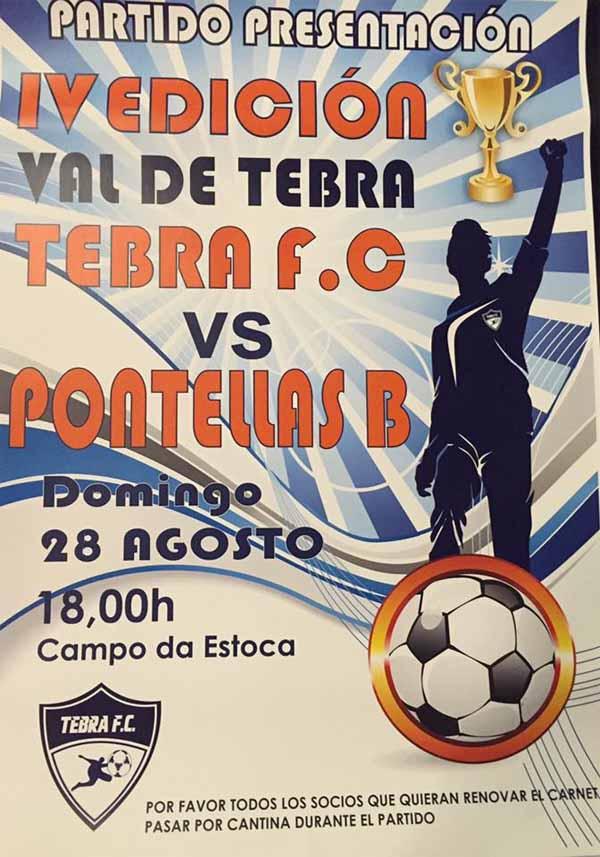 Infominho -  O Tebra FC inicia a tempada este domingo no Campo da Estoca - INFOMI�O - Informacion y noticias del Baixo Mi�o y Alrededores.