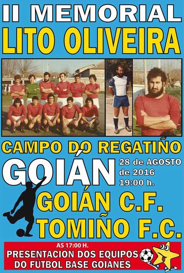 Infominho -  O Campo do Regati�o de Goi�n acolle este domingo o II Memorial Lito Oliveira - INFOMI�O - Informacion y noticias del Baixo Mi�o y Alrededores.