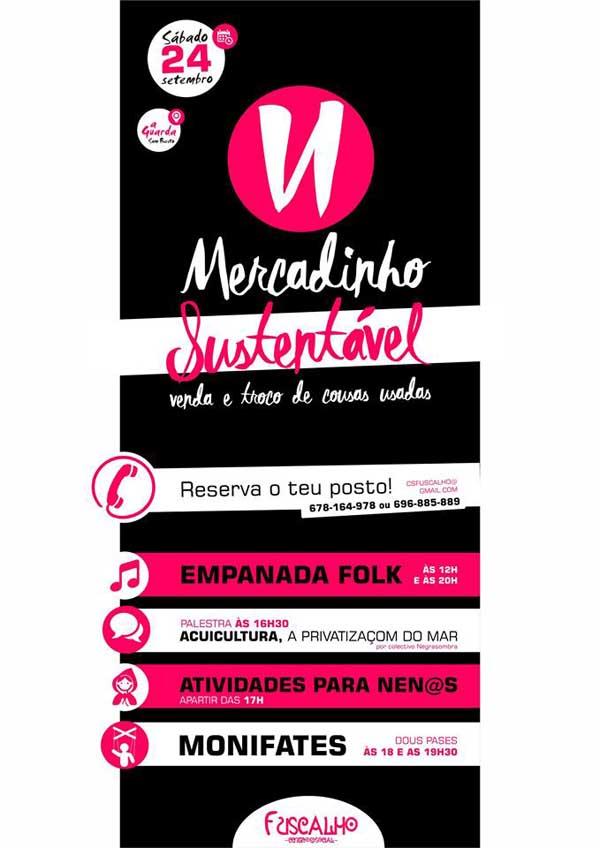 Infominho -  O Fuscalho organiza o VI Mercadinho Sustentavel o vindeiro 24 de setembro - INFOMI�O - Informacion y noticias del Baixo Mi�o y Alrededores.