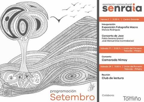 Infominho -  A Asociaci�n SenRaia organiza en Tomi�o varias actividades durante o mes de setembro - INFOMI�O - Informacion y noticias del Baixo Mi�o y Alrededores.