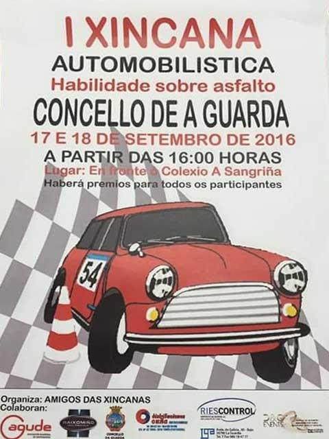 Infominho - A Guarda acolle esta fin de semana a I Xincana Automobilística de habilidade sobre asfalto - INFOMIÑO - Informacion y noticias del Baixo Miño y Alrededores.
