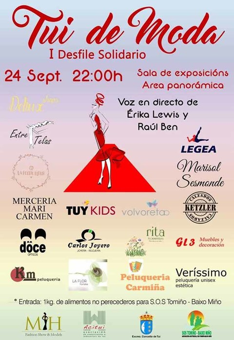 Infominho -  Tui acolle un Desfile Solidario a favor de SOS Tomi�o o 24 de setembro - INFOMI�O - Informacion y noticias del Baixo Mi�o y Alrededores.