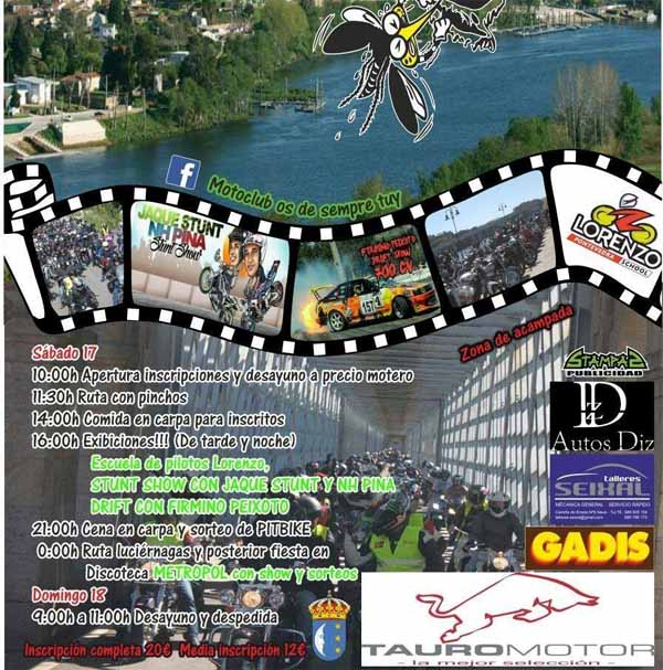 Infominho - Esta fin de semana terá lugar a III Xuntanza Motera Internacional Cidade de Tui - INFOMIÑO - Informacion y noticias del Baixo Miño y Alrededores.