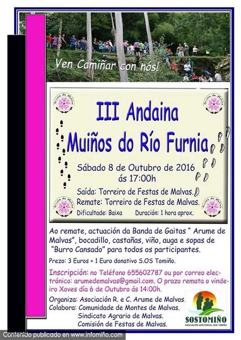 Infominho -  A Asociaci�n Arume de Malvas organiza o 8 de outubro a III Andaina polos Mu��os do R�o Furnia - INFOMI�O - Informacion y noticias del Baixo Mi�o y Alrededores.
