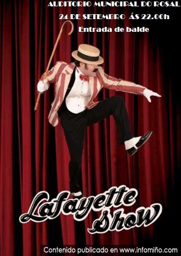 Infominho -  Lafayette Show leva un espect�culo de maxia, comedia e humor � Auditorio Municipal do Rosal - INFOMI�O - Informacion y noticias del Baixo Mi�o y Alrededores.