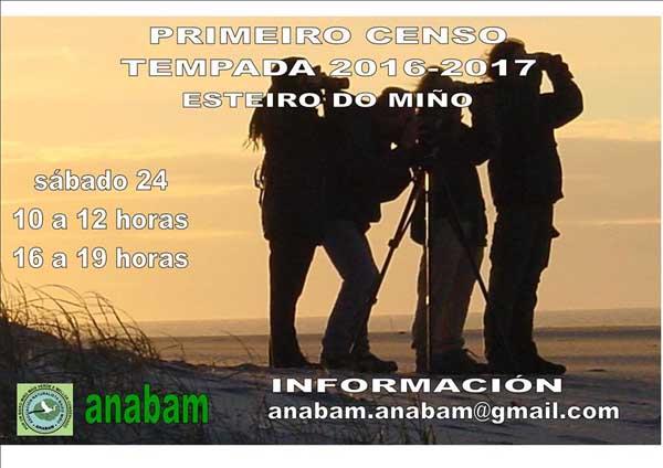 Infominho -  Anabam organiza este s�bado o primeiro censo de aves da tempada 2016-17 - INFOMI�O - Informacion y noticias del Baixo Mi�o y Alrededores.