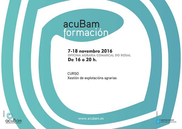 Infominho -  acuBam organiza o curso -Xesti�n de explotaci�ns agrarias- - INFOMI�O - Informacion y noticias del Baixo Mi�o y Alrededores.