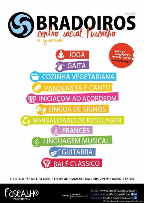 Infominho -  O Centro Social Fuscalho de A Guarda ofrece novos obradoiros - INFOMI�O - Informacion y noticias del Baixo Mi�o y Alrededores.