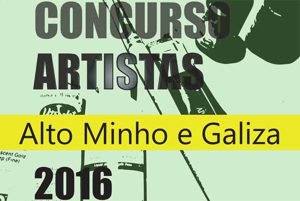 Infominho - Concurso Prémio Artistas do Alto Minho e Galiza 2016 - INFOMIÑO - Informacion y noticias del Baixo Miño y Alrededores.