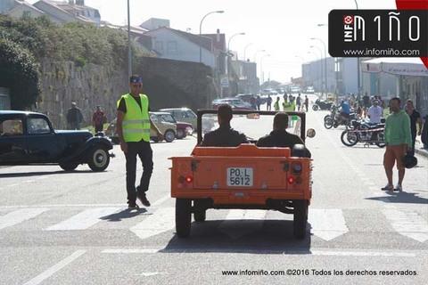 Infominho - Especial - Máis dun cento de vehículos e motocicletas déronse cita na -I Concentración de la vieja escuela- - INFOMIÑO - Informacion y noticias del Baixo Miño y Alrededores.