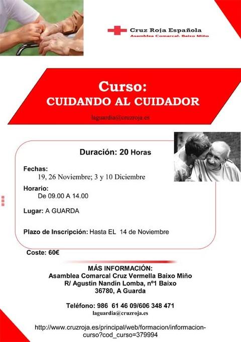 Infominho -  Convocado el curso Cuidando al cuidador - INFOMI�O - Informacion y noticias del Baixo Mi�o y Alrededores.