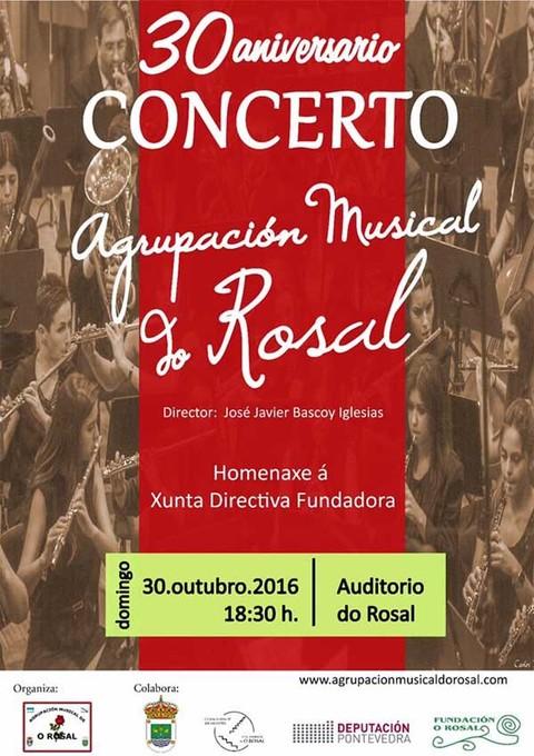 Infominho -  A Agrupaci�n Musical do Rosal festexa o 30 de outubro o seu 30� aniversario  - INFOMI�O - Informacion y noticias del Baixo Mi�o y Alrededores.
